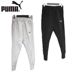 ↓ PUMA 851126-01-04 EVO STRIPE プーマ エヴォ ストライプ スウェット パンツ レディース|shobido