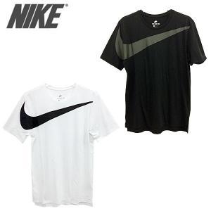 NIKE 856491-100-010 ナイキ ドロップテール オーバー サイズ スウッシュ 半袖 Tシャツ メンズ|shobido