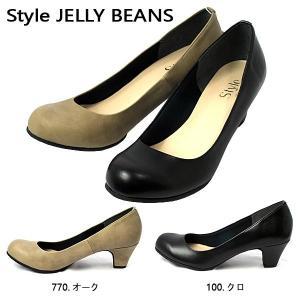 スタイル ジェリービーンズ JELLY BEANS ヒール プレーン パンプス レディース 9400-100-770|shobido