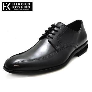 ヒロココシノ 本革 レザー ビジネスシューズ スワールモカ 靴 メンズ HK127-100 shobido