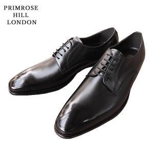 プリムローズヒルロンドン ロングノーズ プレーントゥ ビジネスシューズ レザー 革 靴 メンズ PH1510-100|shobido