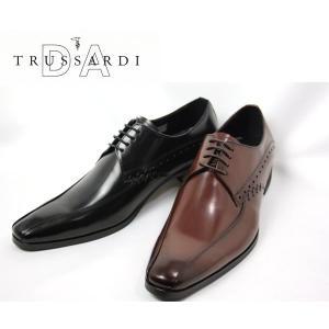 スワールモカ イタリアンテイスト ビジネスシューズ トラサルディ メンズ TR13071-100 -200|shobido