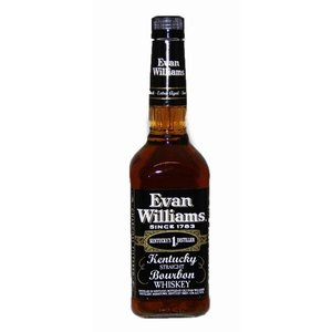 エヴァン ウィリアムス ブラックラベル 43度 750ml バーボンウイスキー サッポロ|shochuya-doragon
