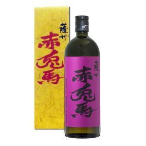 数量限定/  紫の赤兎馬(せきとば) 化粧箱入   25度 720ml 芋焼酎  濱田酒造|shochuya-doragon