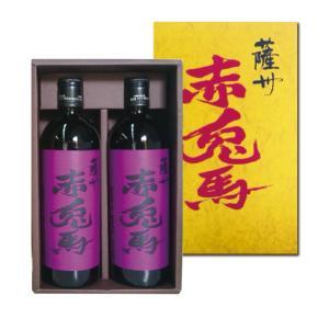 紫の赤兎馬(せきとば) 化粧箱入   25度 720ml×2本 芋焼酎  濱田酒造|shochuya-doragon