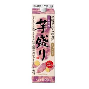 芋盛り 芋焼酎 25度 1800mlパック 1.8L 合同酒精 焼酎甲類乙類混和|shochuya-doragon