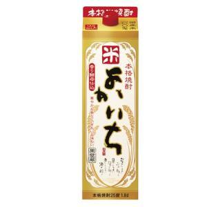 よかいち 25度 1800mlパック 【米焼酎】|shochuya-doragon