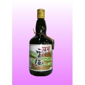 雲海(うんかい) 25度 720ml 雲海酒造【そば焼酎】|shochuya-doragon
