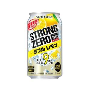 サントリーチューハイ −196℃ ストロングゼロ  ダブルレモン  350ml×24本