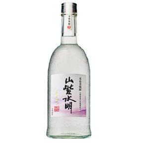 山紫水明 白金の輝き 25度 720ml瓶 本格麦焼酎  さんしすいめい|shochuya-doragon