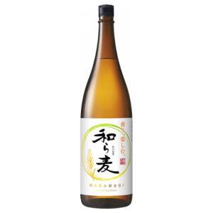 和ら麦 25度 1800ml 麦焼酎 楽丸酒造 サッポロ 1.8L わらむぎ|shochuya-doragon