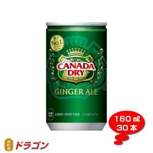 カナダドライ ジンジャーエール 160ml ミニ缶 1ケース30本 コカ・コーラ shochuya-doragon