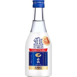 白鶴 上撰 ねじ栓 生貯蔵酒 300ml×12本入り 日本酒 清酒|shochuya-doragon