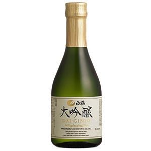 白鶴 大吟醸 300ml×12本入 日本酒 清酒|shochuya-doragon