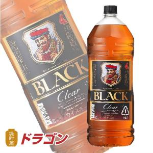 ブラックニッカ クリア 4L 37度 4000ml アサヒ ニッカウイスキーペットボトル 4本まで1...