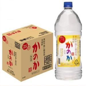 送料無料/かのか 麦 25度 甲乙混和焼酎 ペットボトル 2.7L×6本 アサヒ 2700ml むぎ焼酎 shochuya-doragon