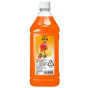 ニッカ 果実の酒 マンゴー酒 15度 1800ml ペットボトル リキュール アサヒ カクテルコンク 業務用|shochuya-doragon