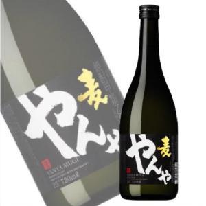 麦焼酎 やんや 25度 720ml×12本  焼酎甲類乙類混和 アサヒ 業務用限定|shochuya-doragon