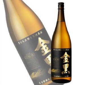 金黒 きんくろ 25度 1.8L瓶 1800ml 本格芋焼酎 アサヒ(芋焼酎)|shochuya-doragon