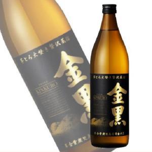 金黒 きんくろ 25度 900ml瓶 本格芋焼酎 アサヒ(芋焼酎)|shochuya-doragon