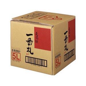 麦焼酎 一番札 5L バッグ・イン・ボックス 5000ml  アサヒ 業務用 大容量 BIB|shochuya-doragon