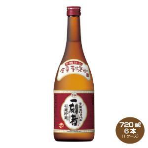 全量芋焼酎「一刻者」 赤 25度 720ml×6 1ケース  宝酒造|shochuya-doragon