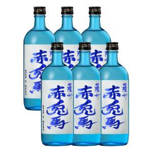 送料無料/赤兎馬(せきとば) ブルー 20度 720ml×6本 濱田酒造 (芋焼酎)|shochuya-doragon