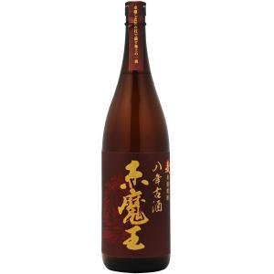 赤魔王 麦八年 古酒 25度 1800ml 櫻の郷醸造(本格麦焼酎)  あかまおう 1.8L むぎ8年|shochuya-doragon