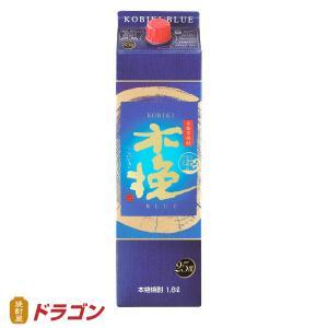 雲海 木挽BLUE ブルー うんかい 芋焼酎 25度 1800ml パック 雲海酒造 1.8L|shochuya-doragon