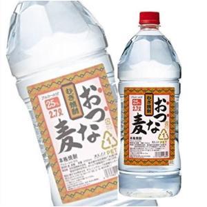 麦焼酎 おつな麦 25度 2.7Lペット 2700ml 焼酎乙類 合同酒精|shochuya-doragon