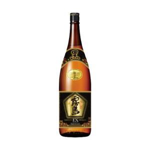 黒霧島EX 25度 1.8Lびん 霧島酒造 芋焼酎 1800ml くろきりしまいーえっくす|shochuya-doragon