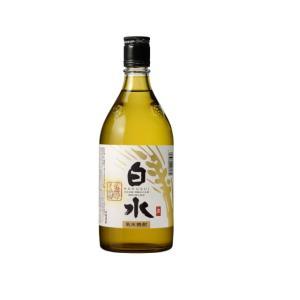 白水 むぎ 蔵酵母 25度 720ml 八代不知火蔵 麦焼酎 くら酵母|shochuya-doragon