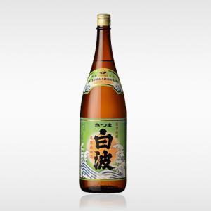 さつま 白波 25度 1800ml  薩摩酒造 芋焼酎 さつま白波 1.8L|shochuya-doragon
