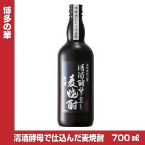 博多の華 清酒酵母で仕込んだ麦焼酎 25度 700ml×6本 福徳長酒類|shochuya-doragon