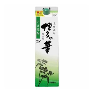 数量限定!!博多の華 そば 25度 1.8Lパック 1800m そば焼酎 福徳長酒類|shochuya-doragon