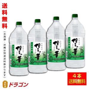 送料無料/博多の華 そば 25度 4L×4本 そば焼酎 福徳長酒類 本格焼酎 はかたのはな 4000...