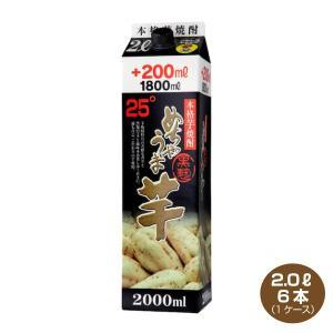 送料無料/本格芋焼酎 めちゃうま芋 25度 2Lパック6本 1ケース 鷹正宗酒造 2000ml いも焼酎|shochuya-doragon