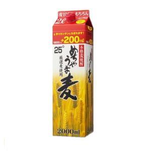本格麦焼酎 めちゃうま麦 25度 2L パック 鷹正宗酒造 2000ml shochuya-doragon