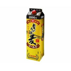 本格麦焼酎 めちゃうま麦ゴールド 25度 2Lパック 鷹正宗酒造 むぎ焼酎 2000ml shochuya-doragon