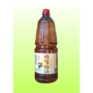 業務用!はちみつ(蜂蜜)梅酒 12度 1800ml ナカタ食品|shochuya-doragon