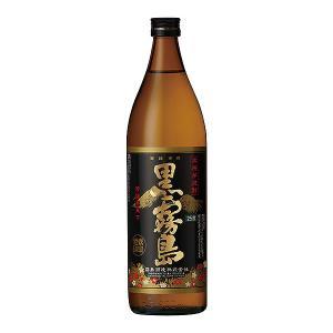 黒霧島 25度 900ml 霧島酒造 芋焼酎 くろきりしま|shochuya-doragon