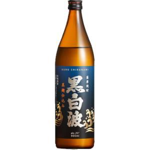 黒白波 薩摩焼酎 黒麹仕込み 25度 900ml 薩摩酒造 芋焼酎 くろしらなみ shochuya-doragon