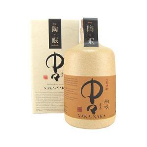 陶眠中々 28度 720ml 黒木本店 麦焼酎|shochuya-doragon