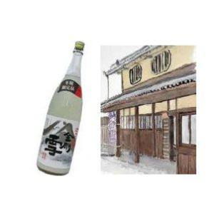 天野酒 金剛雪(こんごうゆき)  1.8L|shochuya-doragon