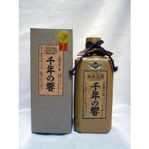 千年の響 【泡盛】 43度 720ml  (有)今帰仁酒造 shochuya-doragon