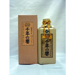千年の響 【泡盛】 長期熟成古酒  25度 720ml  今帰仁酒造 shochuya-doragon