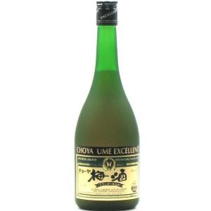 チョーヤ梅酒 エクセレント ブランデー仕込み 14度 720ml