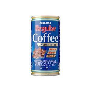 サンガリア レギュラーコーヒー 190ml×30缶 shochuya-doragon