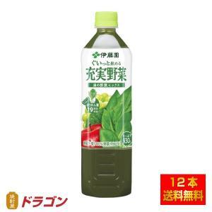 伊藤園 充実野菜 緑の野菜 鉄分 930g shochuya-doragon