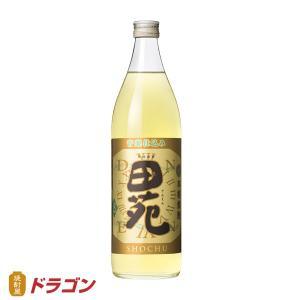 田苑 金ラベル 900ml  田苑酒造 長期貯蔵 本格麦焼酎 でんえん|shochuya-doragon